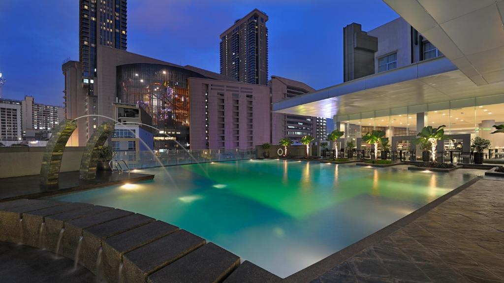 The swimming pool at or near Furama Bukit Bintang, Kuala Lumpur