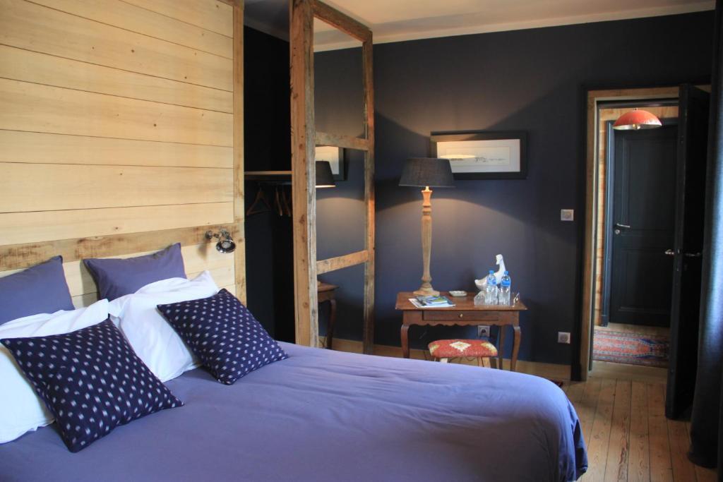 Un ou plusieurs lits dans un hébergement de l'établissement Côté Baie