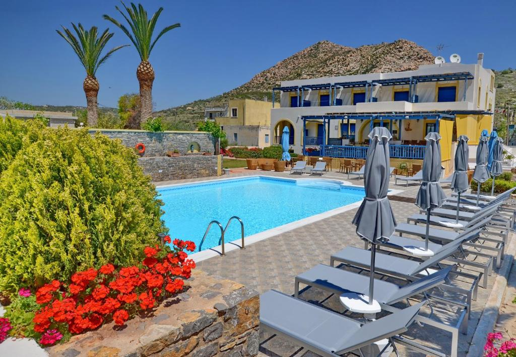 The swimming pool at or near Emporios Bay Hotel