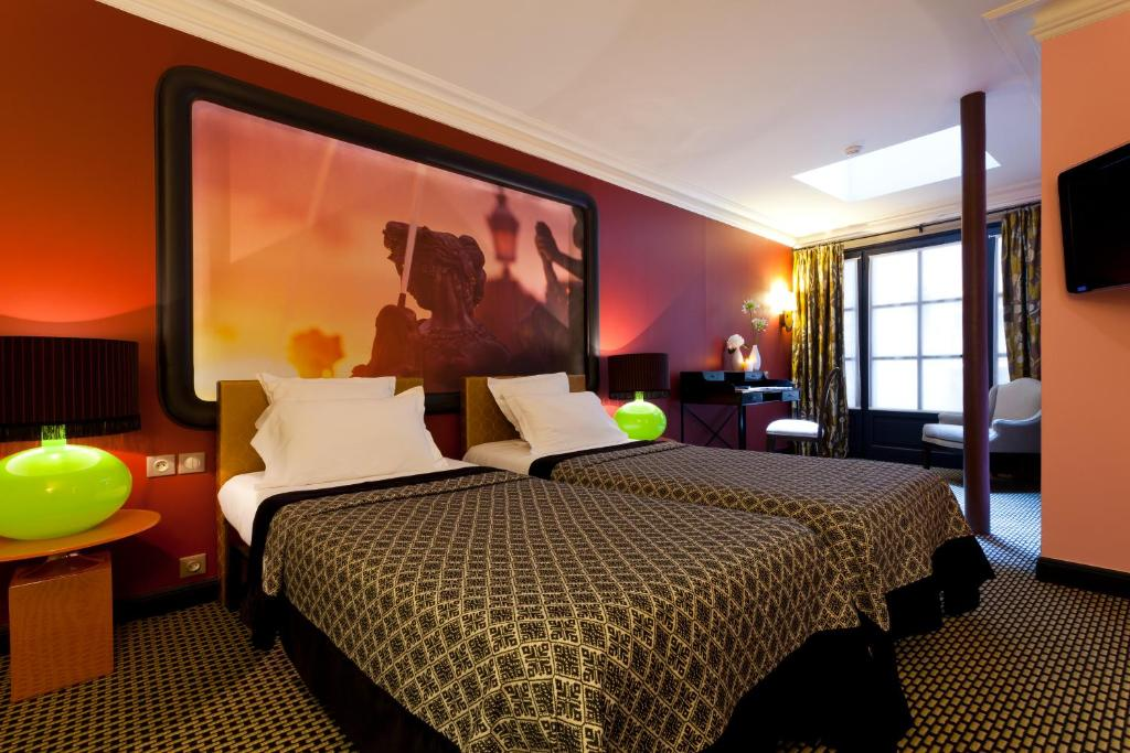 Hotel Fontaines Du Luxembourg - Laterooms