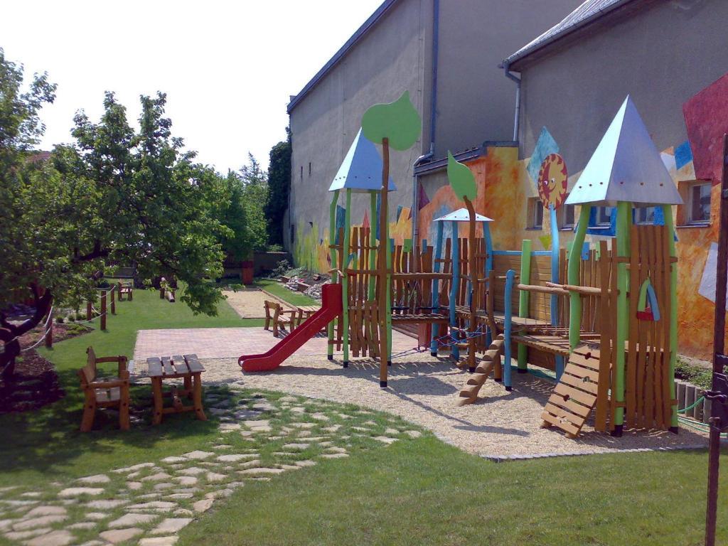Детская игровая зона в Ubytovani U Kulky