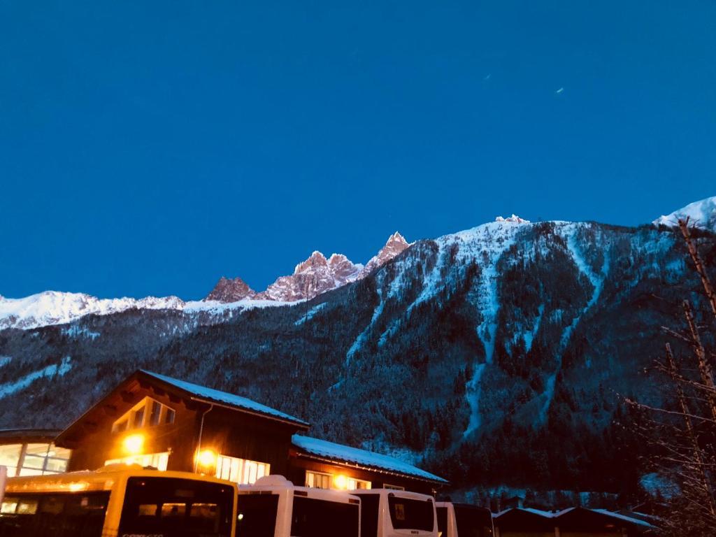 Les deux Alpes studio during the winter