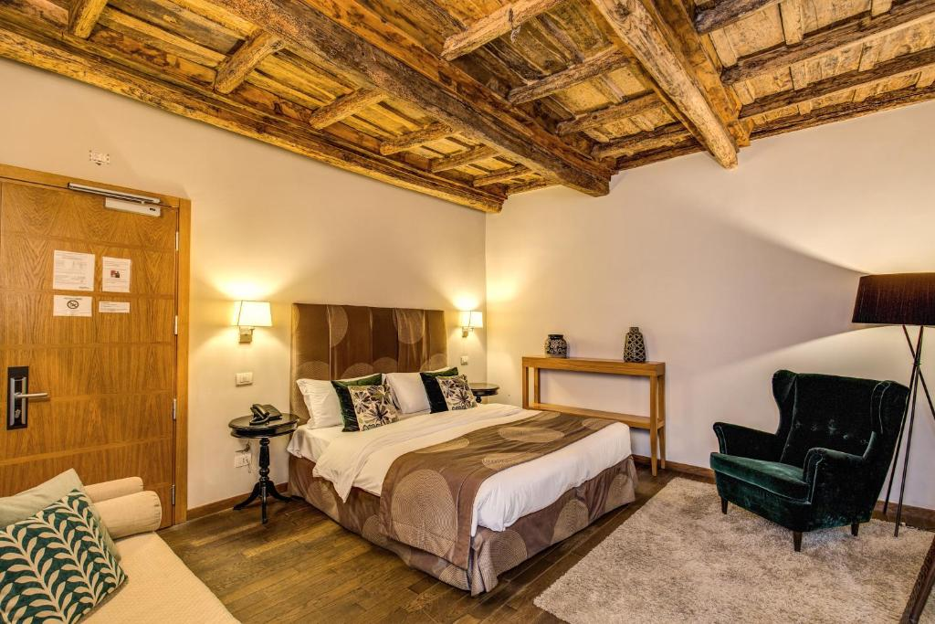 A room at the Trevi Beau Boutique Hotel.