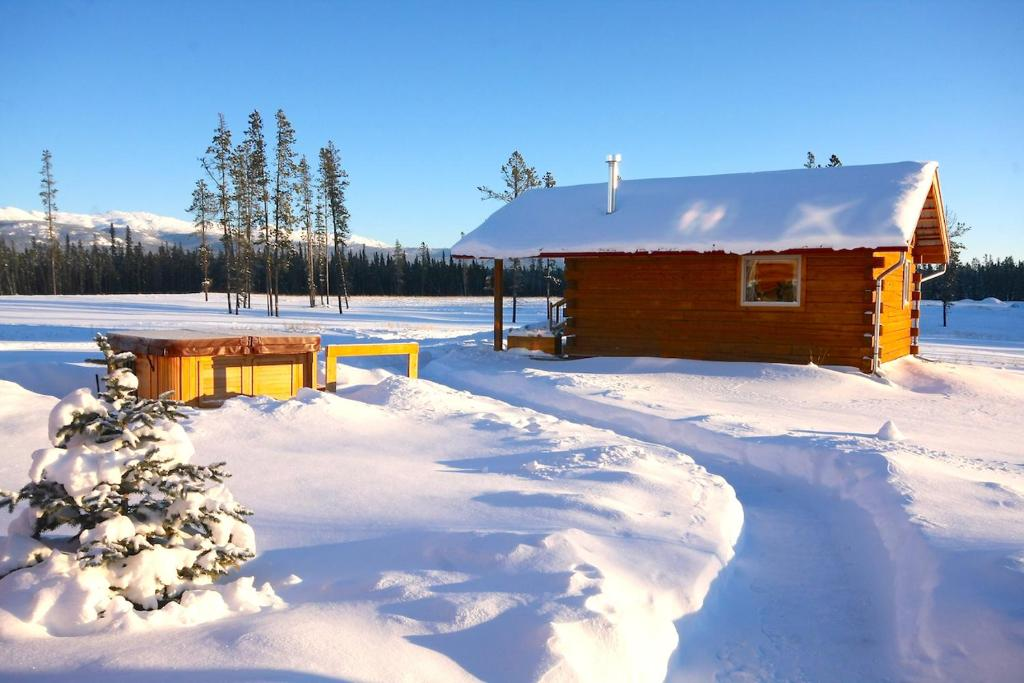 Northern Lights Resort & Spa during the winter