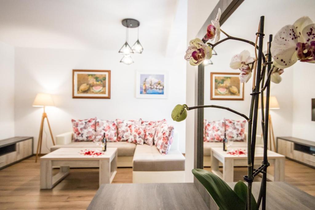 Гостиная зона в Villa Giardino