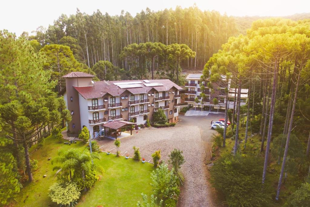 Uma vista aérea de Hotel San Ghermann