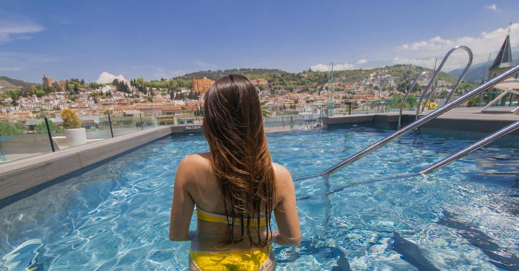 The swimming pool at or near Barceló Carmen Granada
