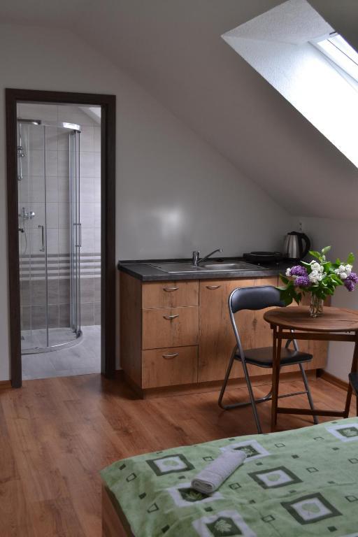 Kuchyňa alebo kuchynka v ubytovaní Apartments ADANA