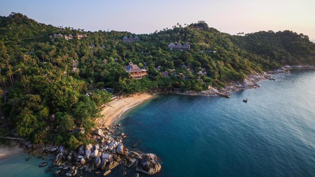 Santhiya Koh Phangan Resort and Spa a vista de pájaro