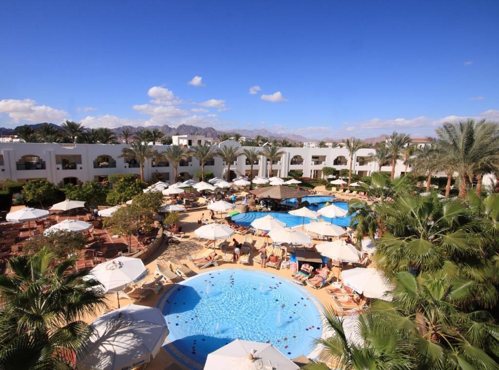 Uitzicht op het zwembad bij Xperience St. George Sharm El Sheikh of in de buurt