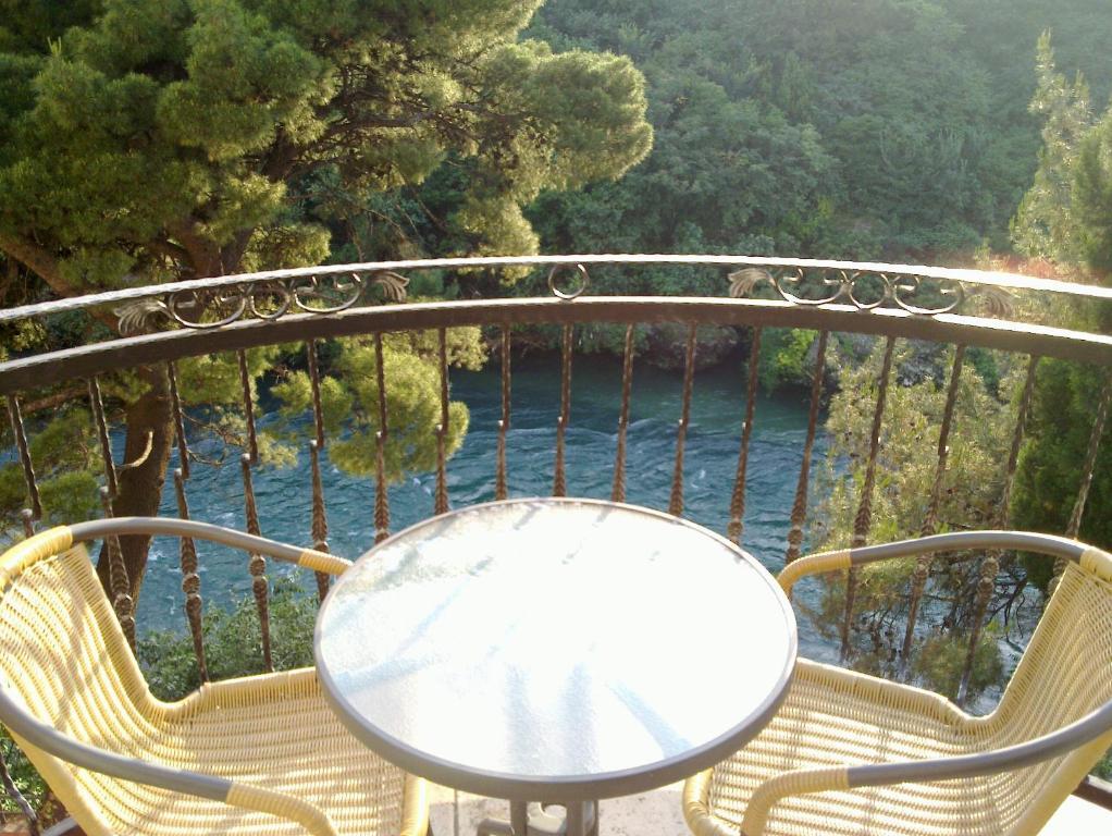 A balcony or terrace at Villa Park