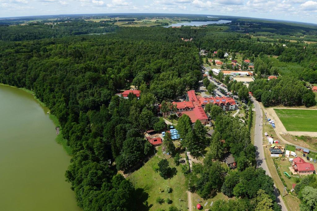 Widok z lotu ptaka na obiekt Hotel Anders