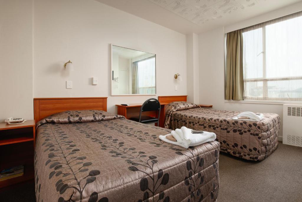 Kiwi International Hotel - Laterooms