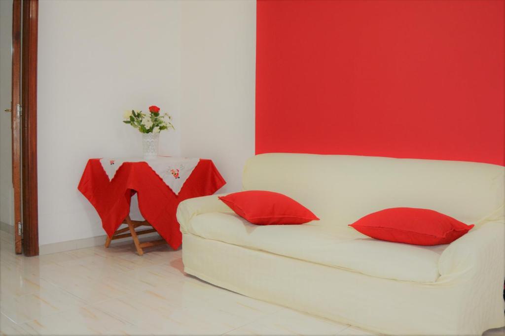 A seating area at Sapore di Mare