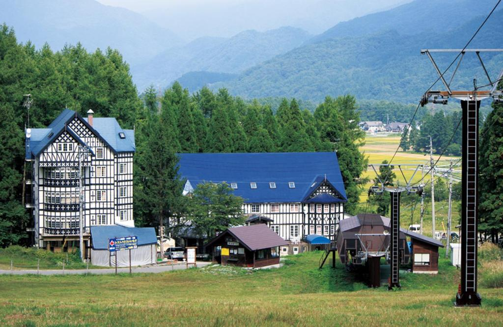 Children's play area at Hakuba Sun Valley Hotel