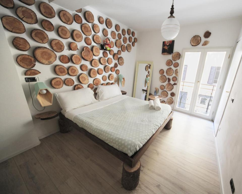 A bed or beds in a room at Dopa Hostel