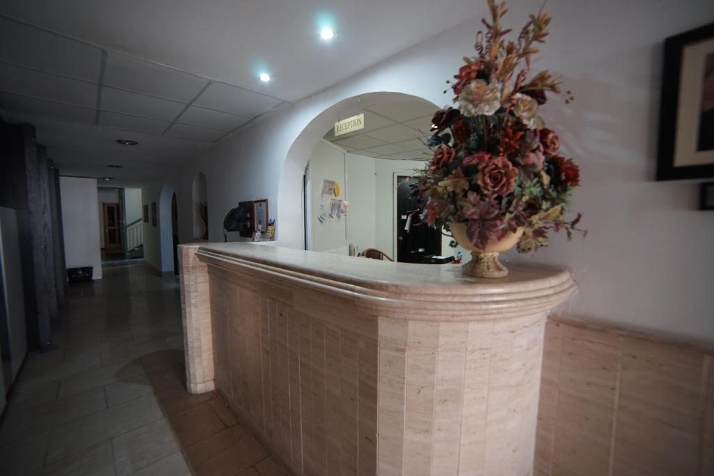 Zona de hol sau recepție la Cardor Holiday Complex