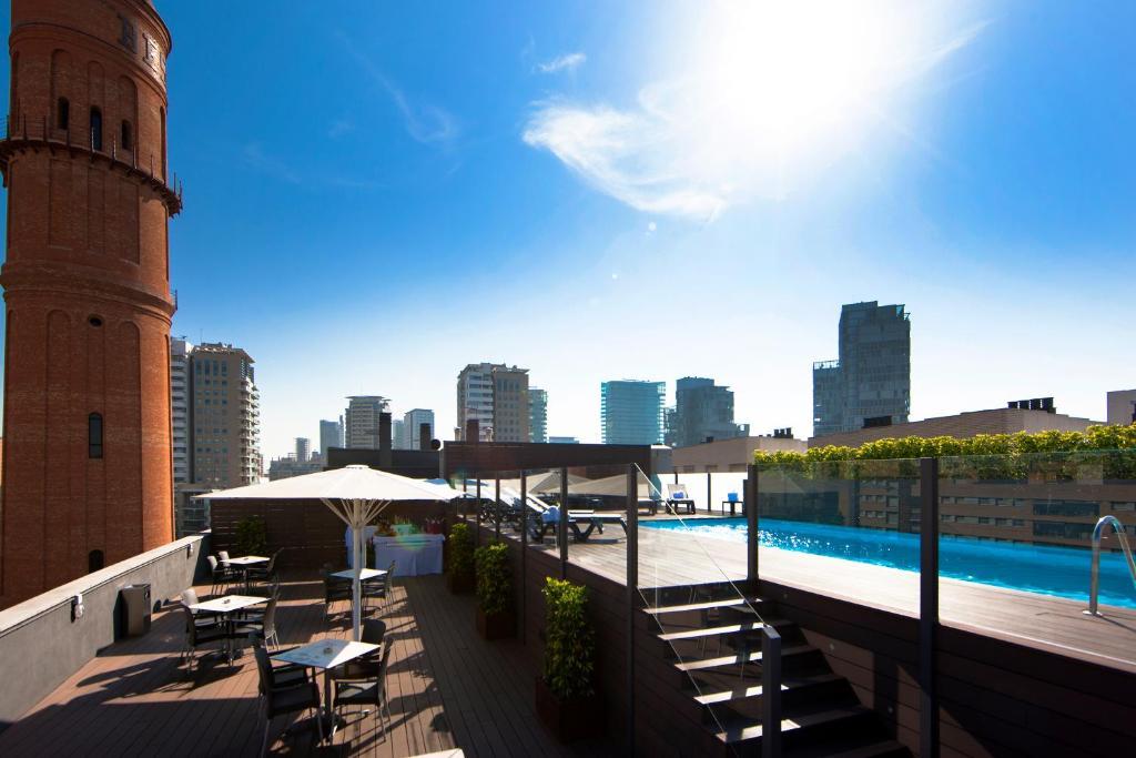 The swimming pool at or near Attica 21 Barcelona Mar