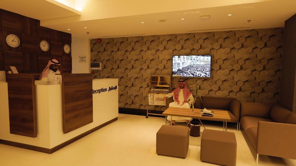 O saguão ou recepção de Stay Inn Suites