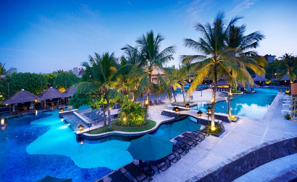 A view of the pool at Hard Rock Hotel Bali or nearby
