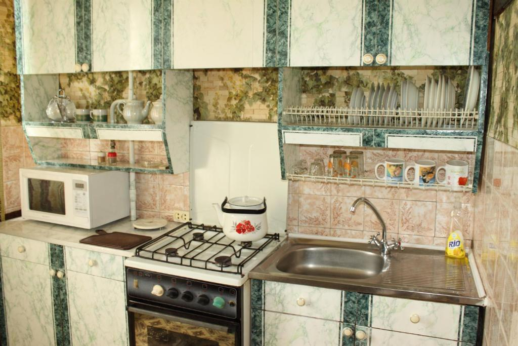 A kitchen or kitchenette at Prime Home 3
