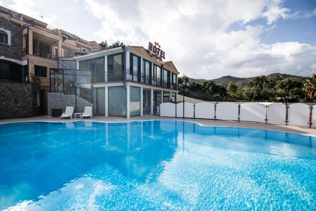 The swimming pool at or near Hotel Solanas