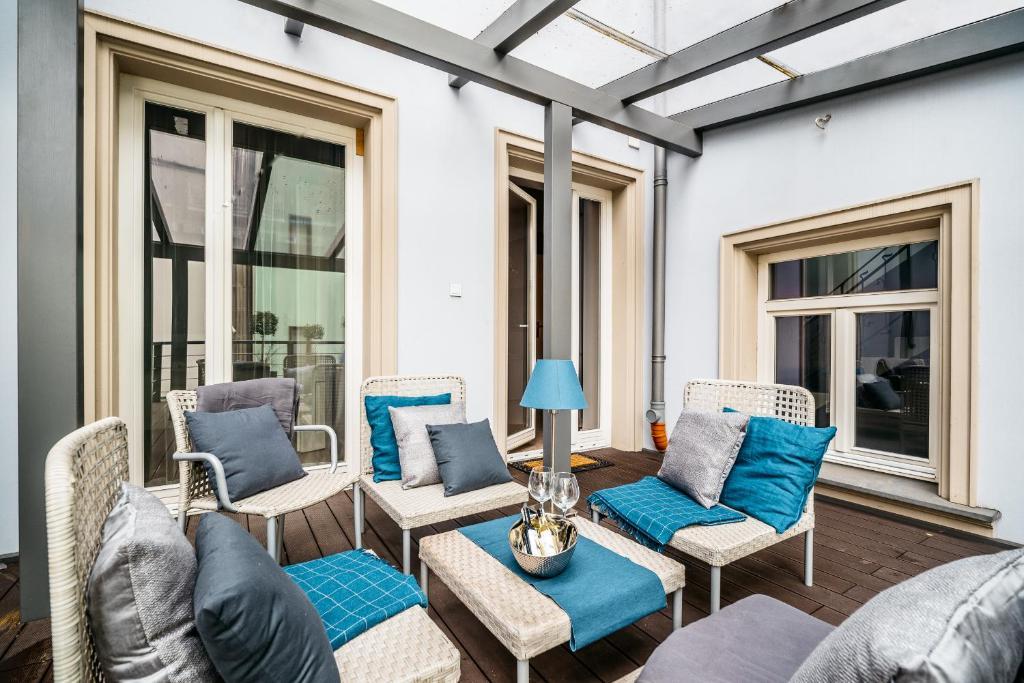 Część wypoczynkowa w obiekcie Apartament Milano Avanti