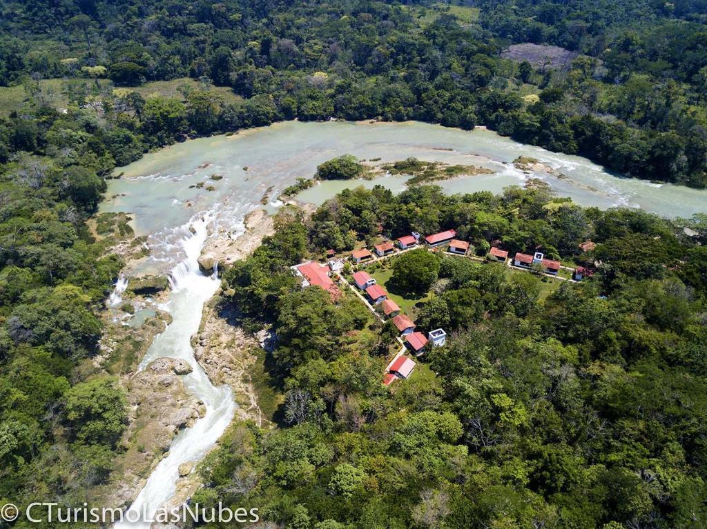 A bird's-eye view of Ecolodge Las Nubes Chiapas