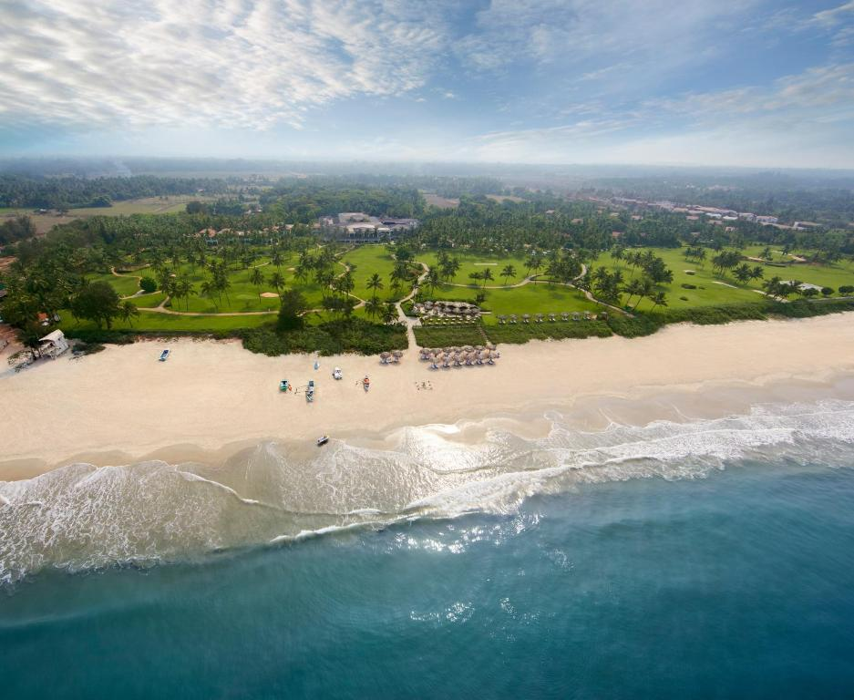 A bird's-eye view of Taj Exotica Resort & Spa, Goa