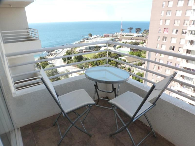 Un balcón o terraza de Apartamento V Region