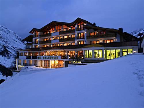 Hotel Bellevue im Winter