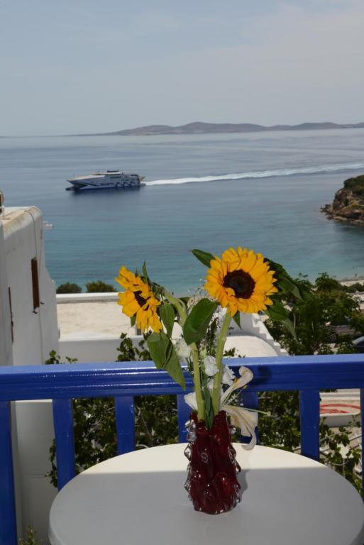 Γενική θέα στη θάλασσα ή θέα στη θάλασσα από  αυτός ο ξενώνας
