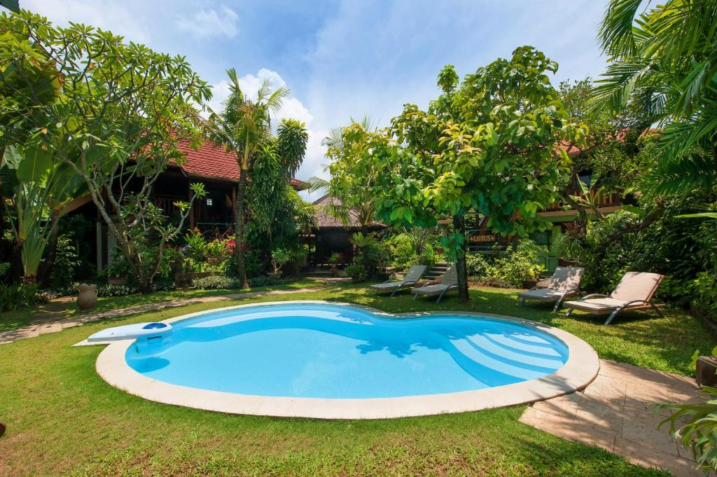 The swimming pool at or close to Pondok Agung Bed & Breakfast