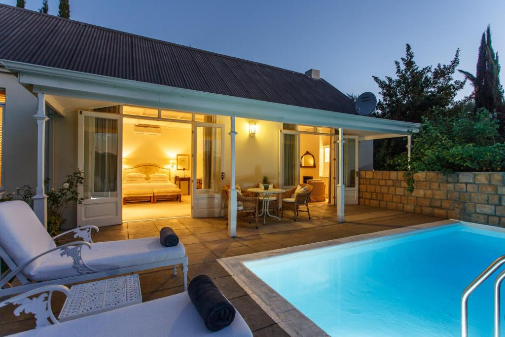 The swimming pool at or near Rosenhof Country House