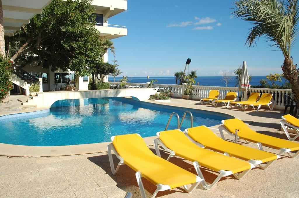 The swimming pool at or near Hotel Masa International