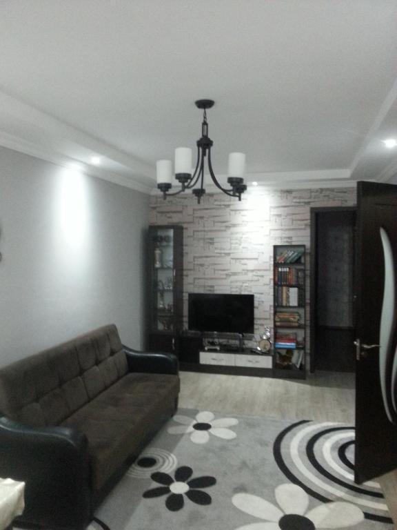 A seating area at Giorgi's Apartment