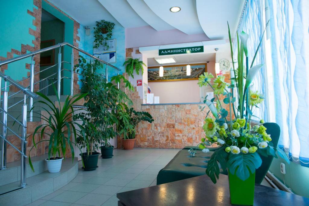 Лобби или стойка регистрации в Гостиница Волгодонск