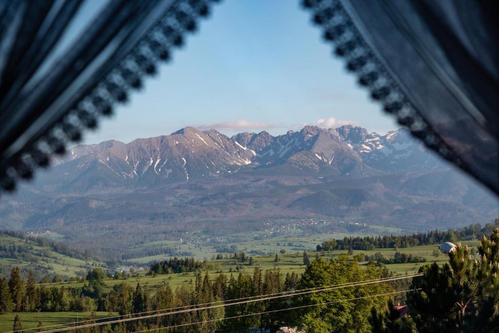 Widok na góry z tego obiektu B&B