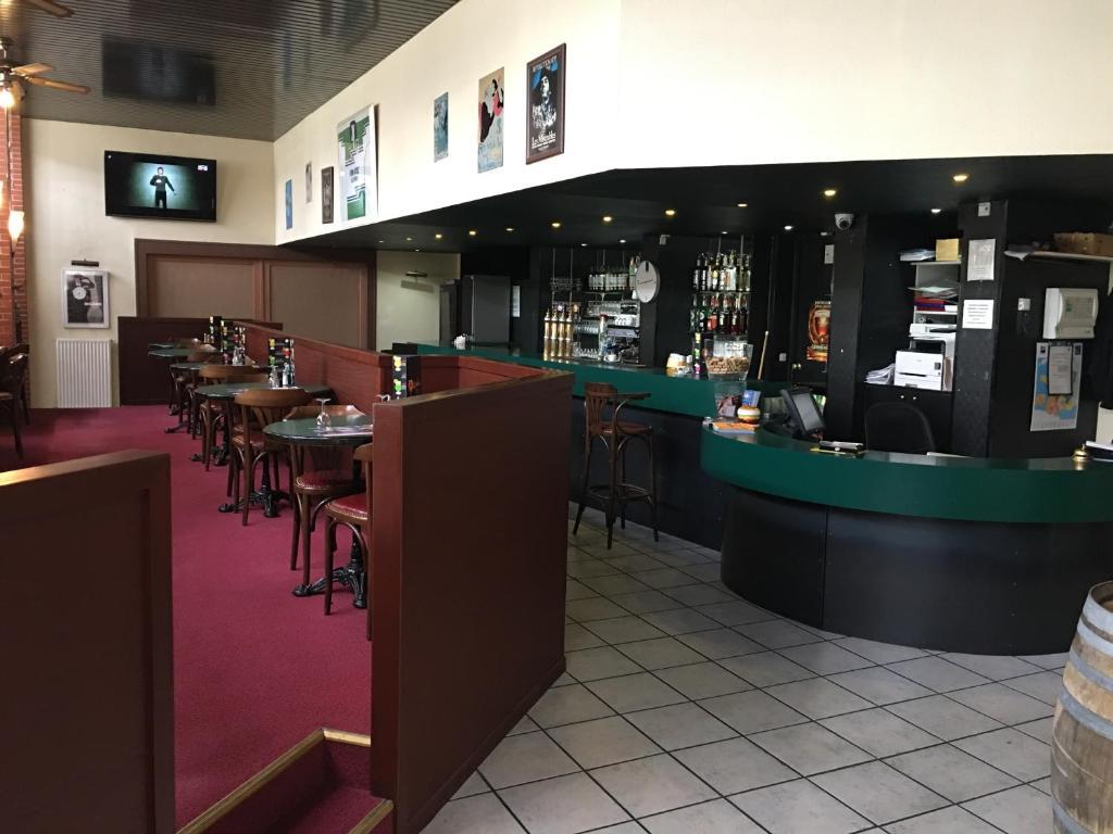 Salon ou bar de l'établissement Firmhotel
