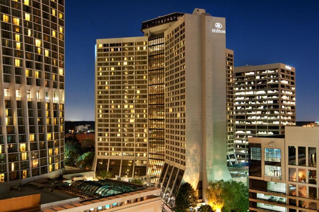 The Hilton Atlanta.