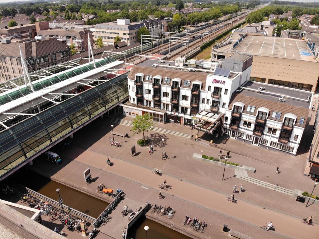 A bird's-eye view of JOINN! City Lofts Houten Utrecht
