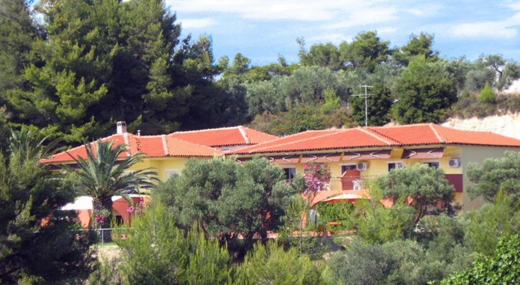 Άποψη από ψηλά του Villa Panorama Studios