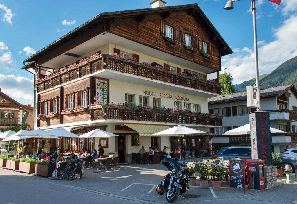 Hotel Romana Savognin, Switzerland