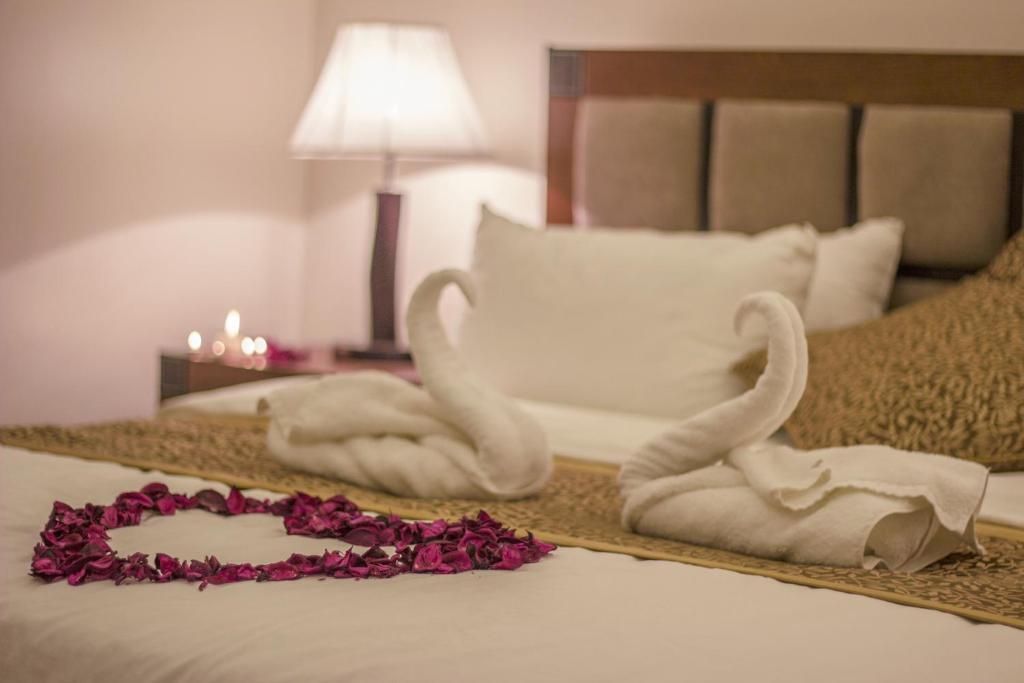 Cama ou camas em um quarto em That Msa Resort