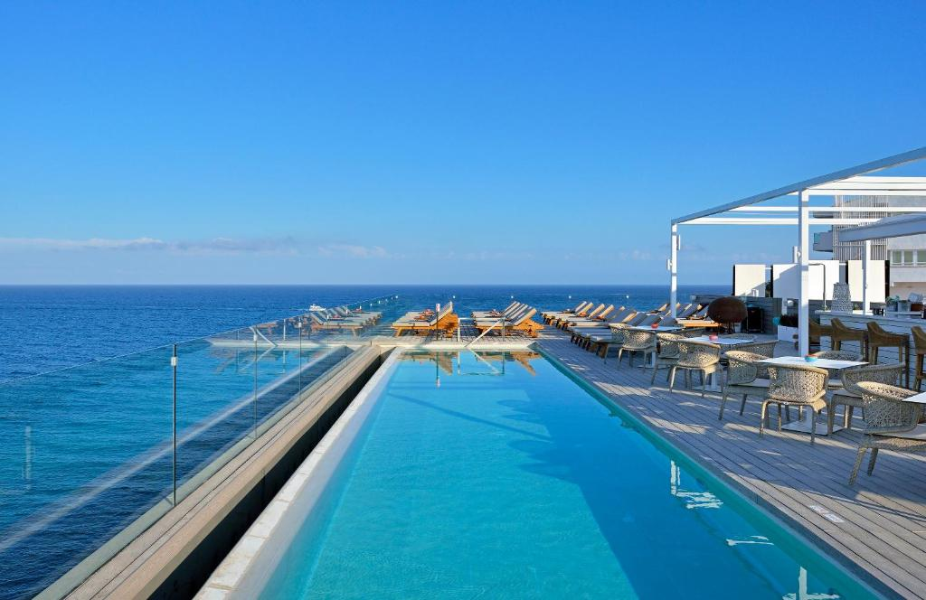 The swimming pool at or near Sol Beach House Ibiza - Adults Only