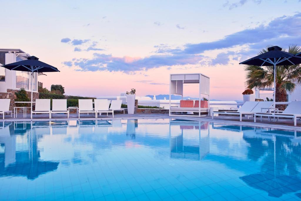 Basen w obiekcie Archipelagos Hotel - Small Luxury Hotels of the World lub w pobliżu