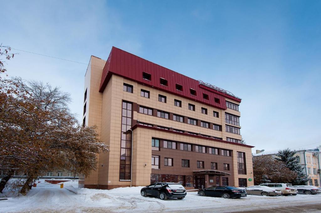 Отель Улитка зимой