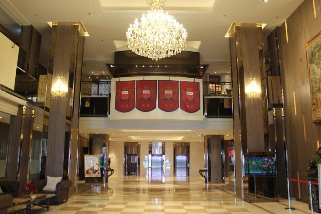 桃園翰品酒店大廳或接待區
