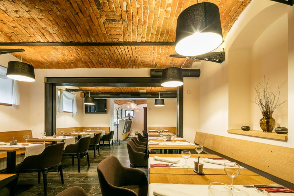Restaurace v ubytování Pytloun Hotel Liberec