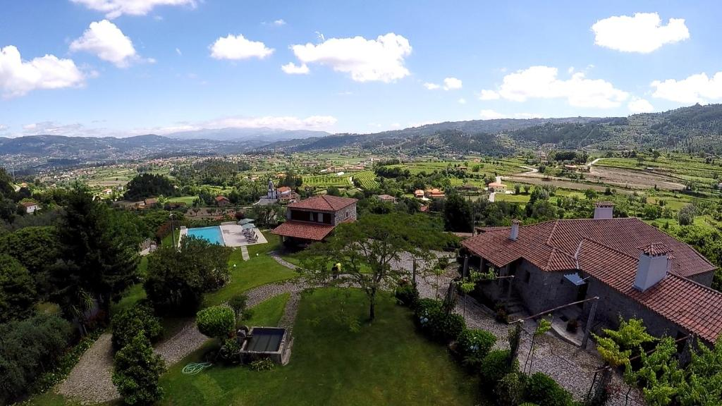 Uma vista aérea de Quinta Souto Chão